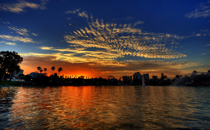 MacArthur park sunrise