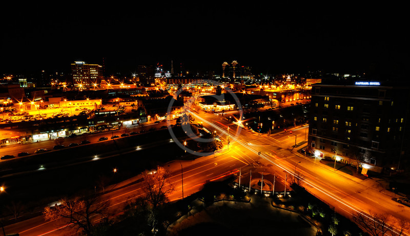 Kansas City Plaza night time lapse