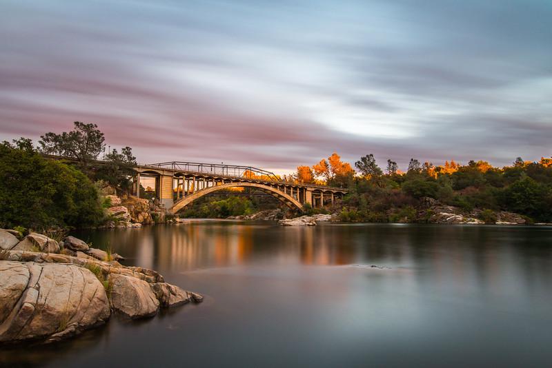 Folsom Rainbow Bridge