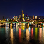 """Frankfurt Skyline at Night"""