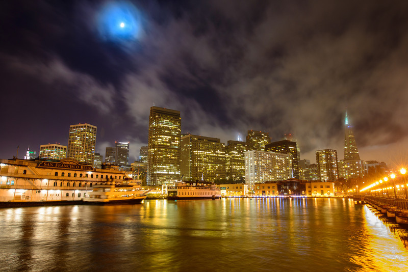San Francisco Skyline at Night