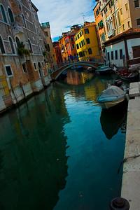 Venice canal, Venice, Italy 2010