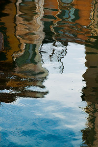Reflections in the water, Venice, Italy 2010