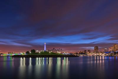 Long Beach twilight