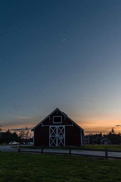 Fort Steilacoom Park Sunset