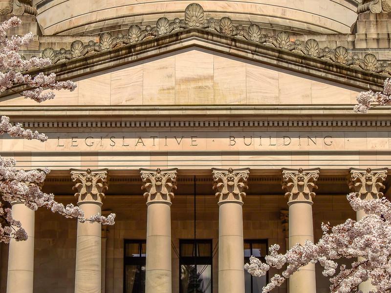 Closeup of Legislative Building