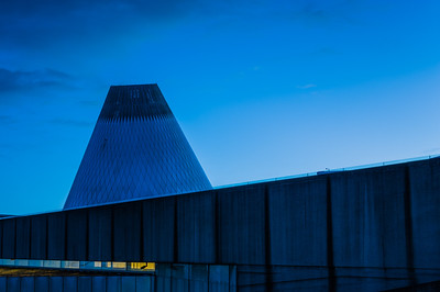 Blue Hour at the Museum of Glass