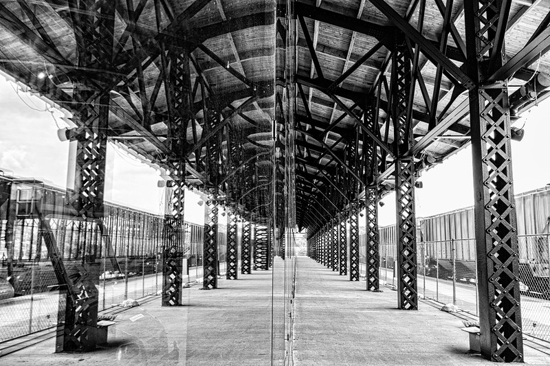 Main St. Station Train Shed