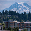 Mt Rainier & Downtown Olympia