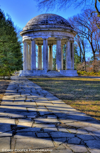 March 10, Another post from DC. This is the World War Memorial. Located near the Lincoln Memorial it honors those who served in WW I and was donated by the citizens of the District of Columbia