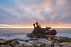 PV shipwreck long exposure sunset