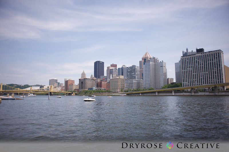Downtown Pittsburgh from the North Shore of the Allegheny River