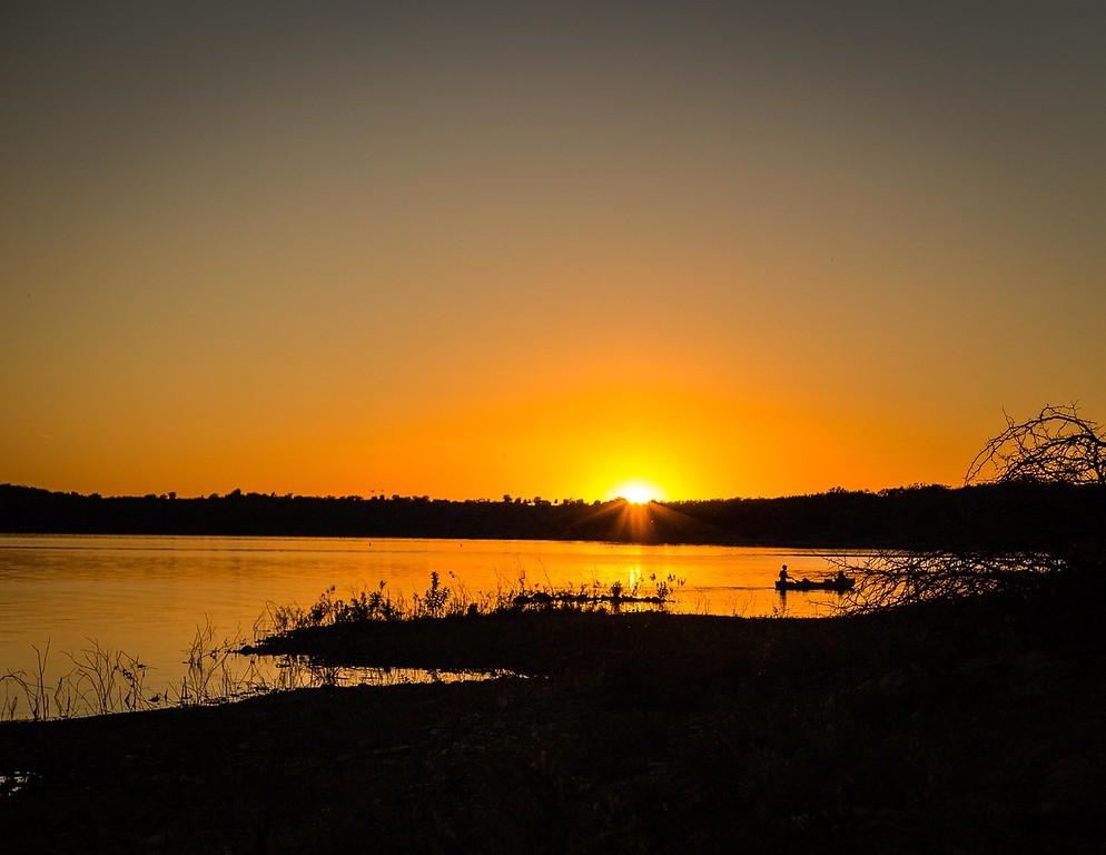 Sunset @ Clinton State Park