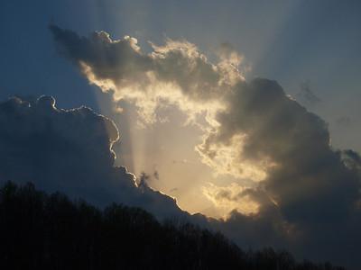 Clouds Over Wallen Ridge
