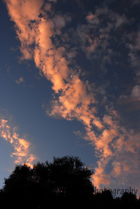 Summer Clouds at Sunset