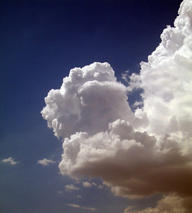 Cumulonumbus cloud over Menifee, 3 Sep 2006