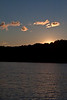 Sunset at Crooked Lake.<br /> <br /> September 26, 2011