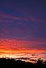 Post-storm sunset.<br /> <br /> Along U.S. 23 near the Michigan-Ohio border.<br /> September 4, 2011