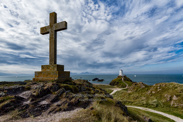 The Cross and Tower Llanddwyn Island Anglesea