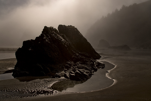 """Ominous Beach"" - Oregon"