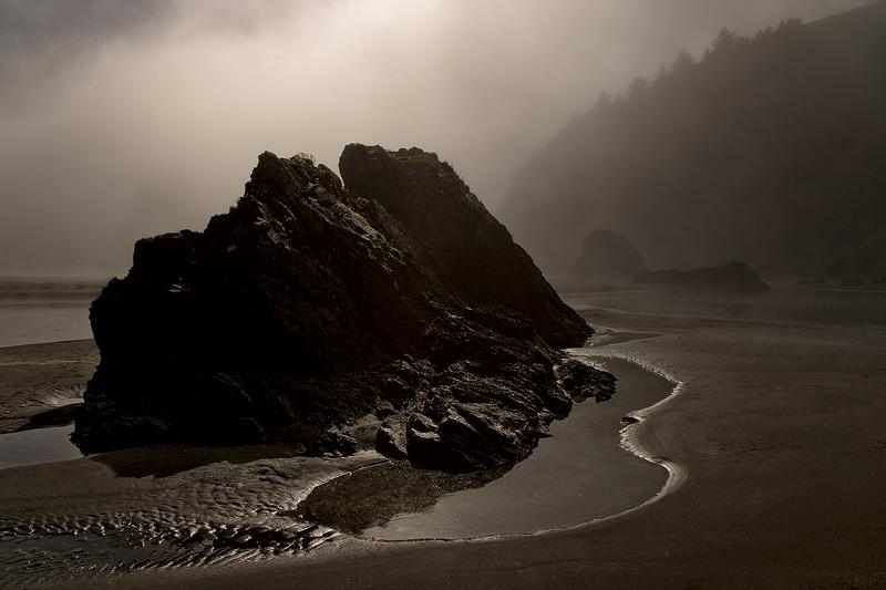 """Ominous Beach"" - Oregon"