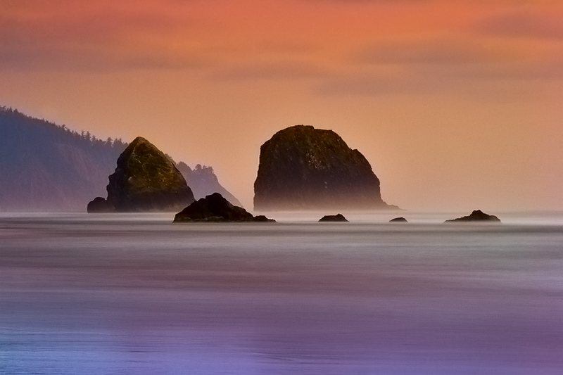 """Dreaming at Cannon"" - Oregon"