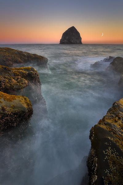 """Pacific Lunar Twilight""  - Oregon"