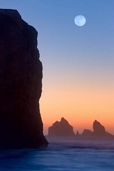 """""""Celestial Seascape""""  - Oregon"""