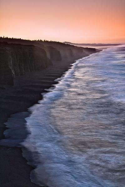 """Pre-Dawn on the Oregon Coast"""