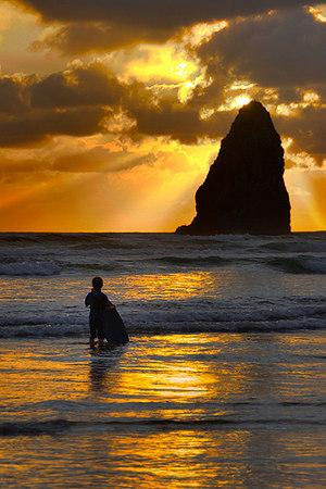 """""""Surf Boy""""  - Oregon"""
