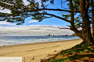 Crescent Beach - Hike from Seaside to Cannon Beach - Oregon Coast