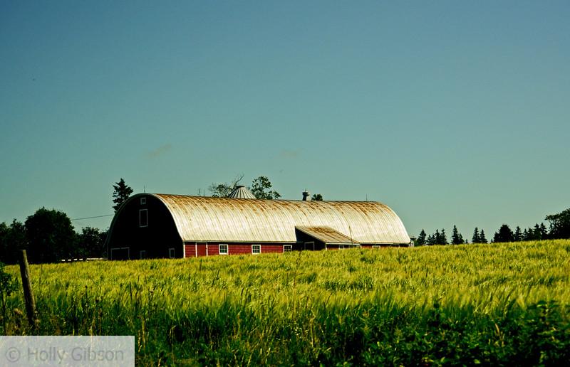 Barn - Prince Edward Island, Canada