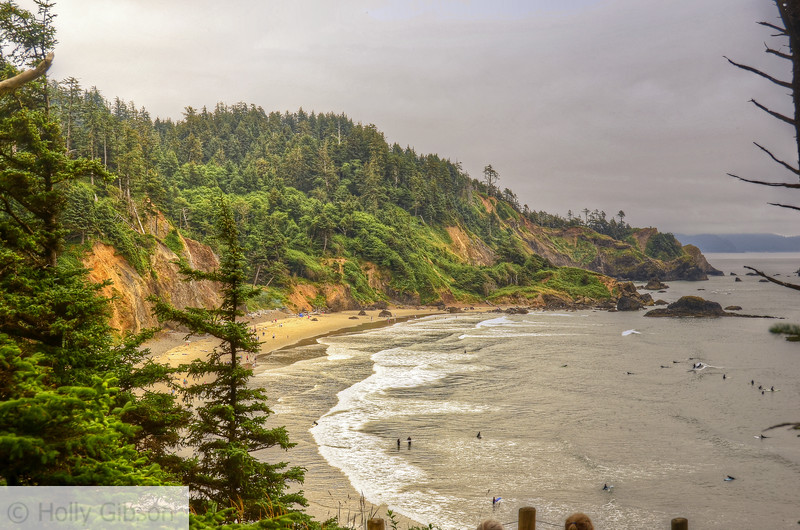 Indian Beach - trail from Seaside to Cannon Beach - Oregon Coast