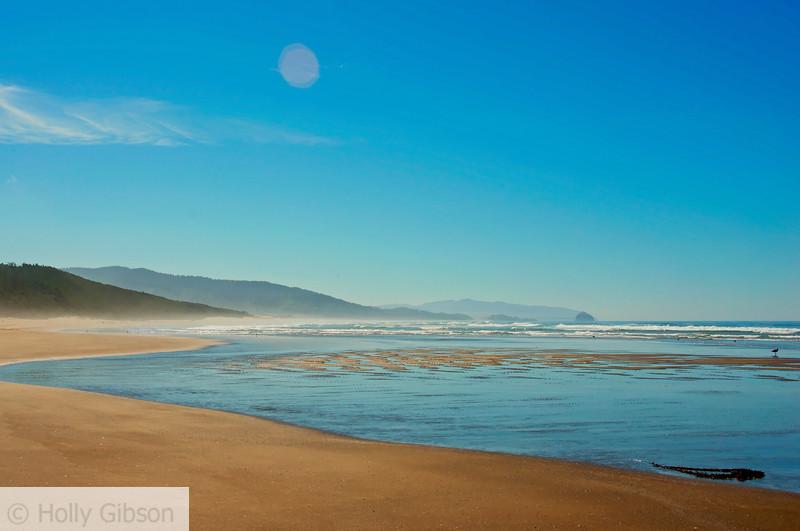 Beach at south trail