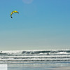 Kite surfing at Manzanita