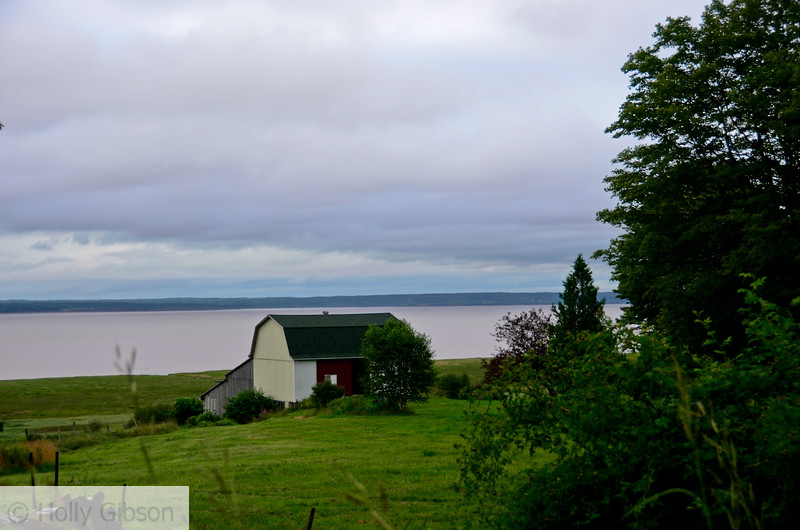 Walking to Hopewell Rocks from Chocolate River Motel - 49