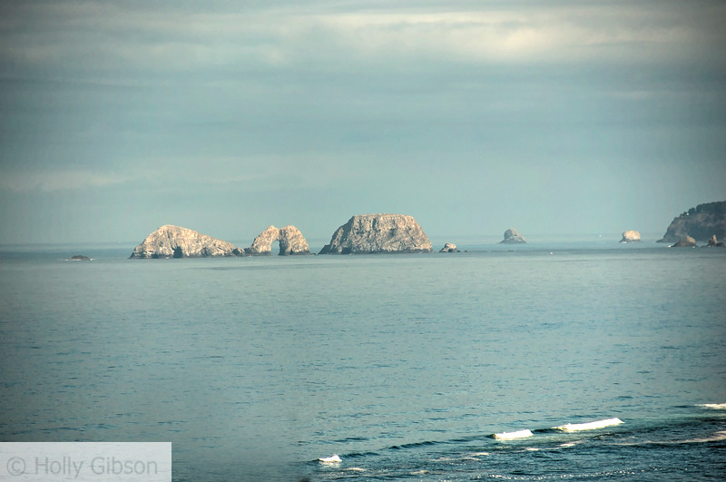 Three Arch Rocks  near Cape Lookout