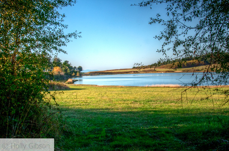 Lake near Fort Worden State Park - Port Townsend, Washington
