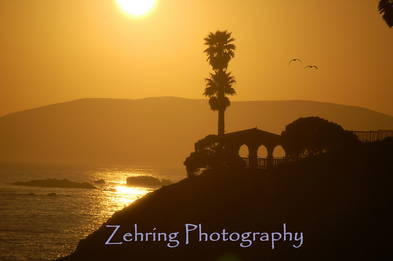 Sunset at Pismo Beach, CA.