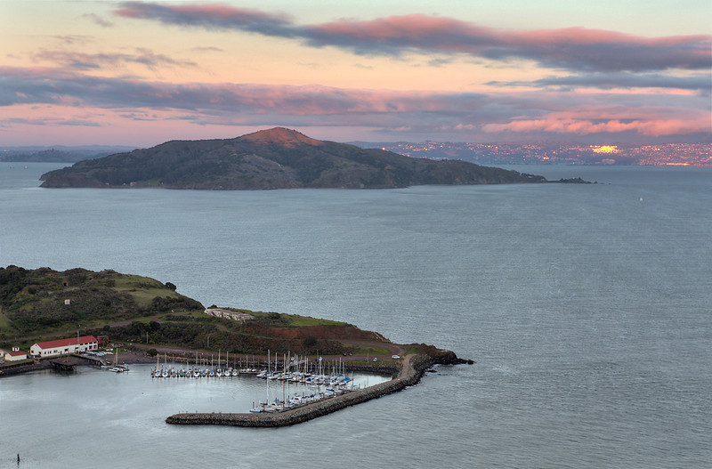 Angel Island - San Pablo Bay - Taken from Marin County