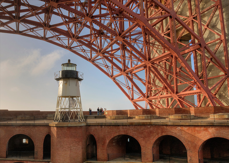 Lighthouse at Fort Point - San Francisco, California