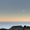 Sunrise/Moonset Sonoma Coast
