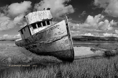 Wreck of the Point Reyes, Inverness, California - 2012