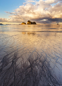 Sands of Cathedral Sunset 1