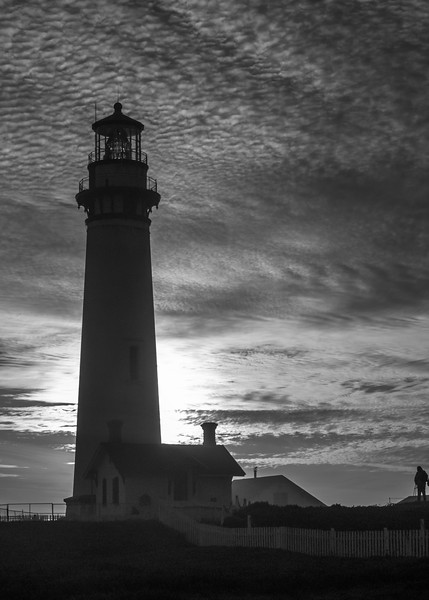 Pigeon Point Lighthouse Silhouette