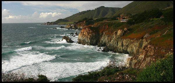 Beach along CA 1