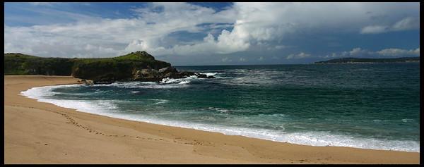 Beach along highway1