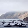 Lost Coast in Fog, California