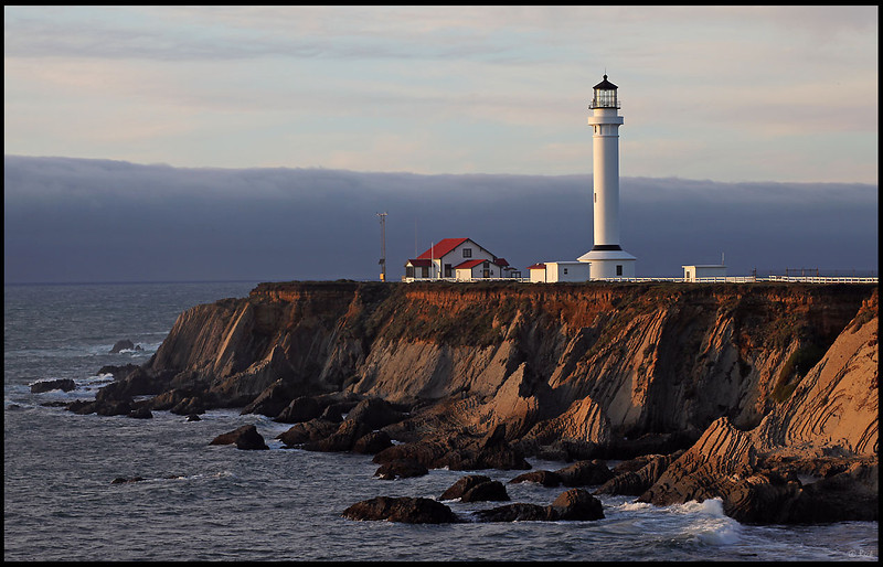Point Arena Lighthouse, Sunset, California