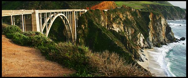 Bixby Bridge on Highway 1